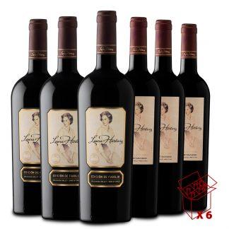 Pack de vinos Cabernet Franc, Cabernet Sauvignon, Carménère, Merlot, Petit Verdot